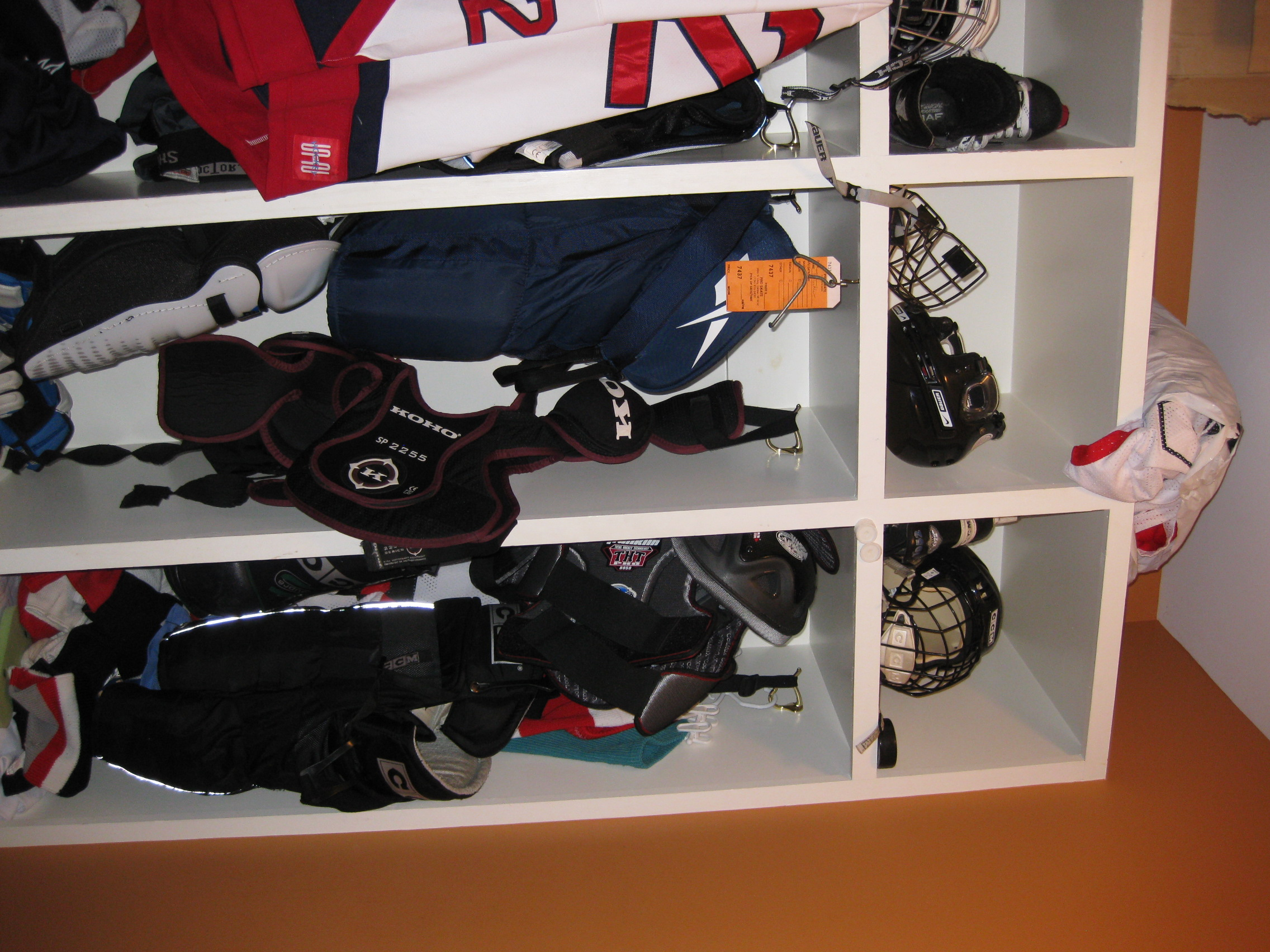How I Kept Hockey Equipment From Taking Over My House