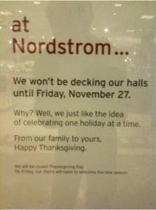 Nordstrom Holiday Decorating Policy