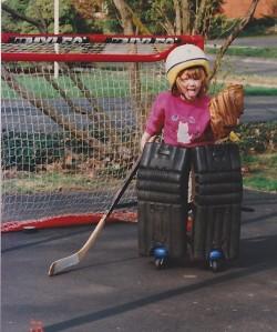 Pre-school goalie
