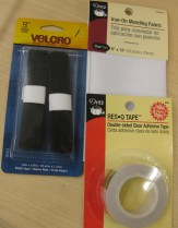 Velcro, Iron-On Patch, Double-sided tape